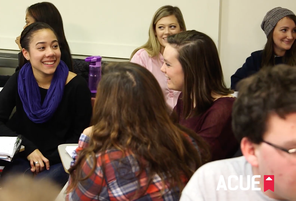 Degrees for Students with Disabilities, Engagement in Education - acue.org