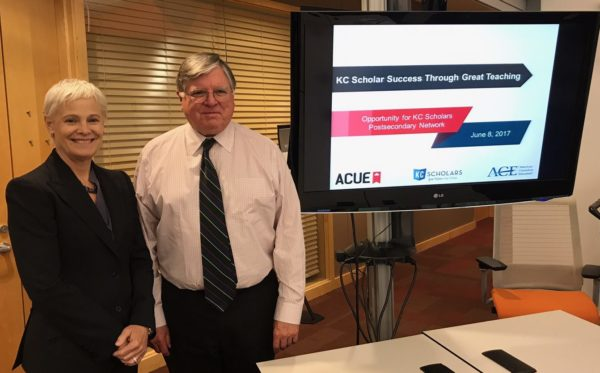 ACUE and KC Scholars Kick Off Collaboration to Advance Great College Teaching